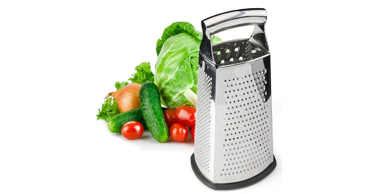 Spring Chef Stainless Steel Box Grater