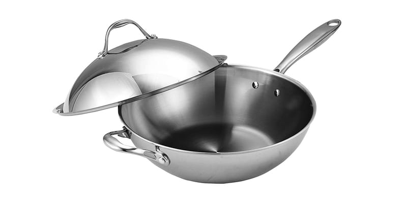 Cooks Standard NC-00233 Stainless Steel Wok