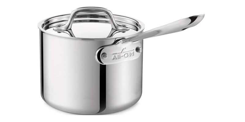 All-Clad 4201.5 Stainless Steel Tri-Ply Bonded Sauce Pan