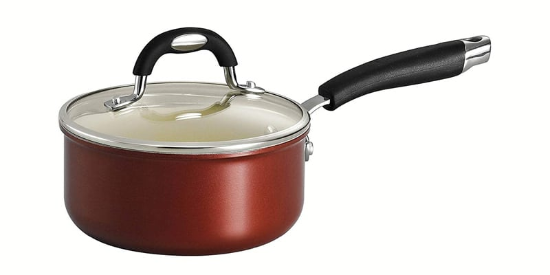 Tramontina 80110/048DS Style Ceramica Covered Sauce Pan