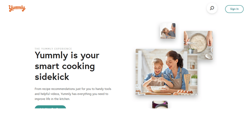 Yummly.com preview