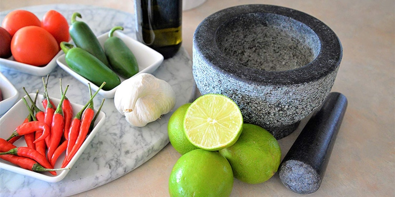 Granite Mortar and Pestle by HiCoup
