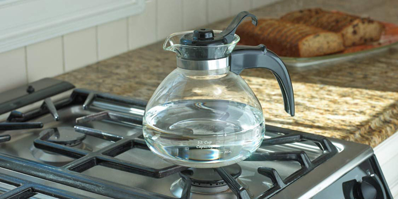 Medelco Glass Stovetop Kettle