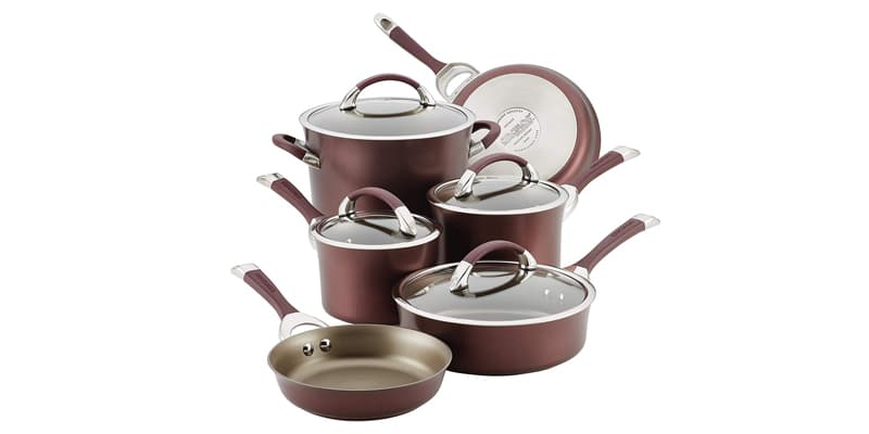 Circulon 87529 Symmetry Hard Anodized Aluminum Cookware Set