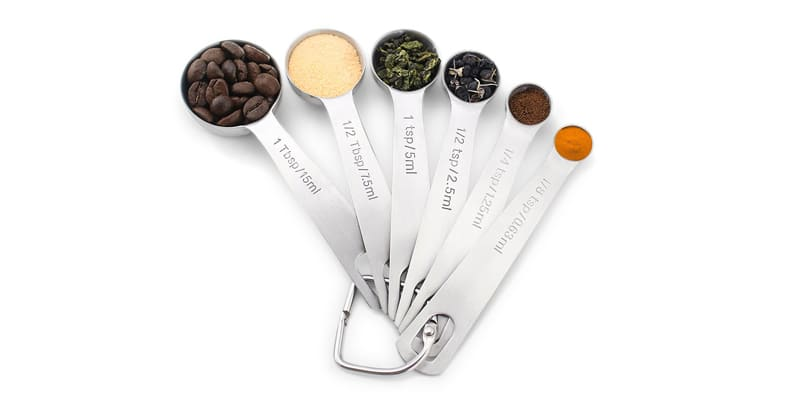 1Easylife Stainless Steel Measuring Spoons