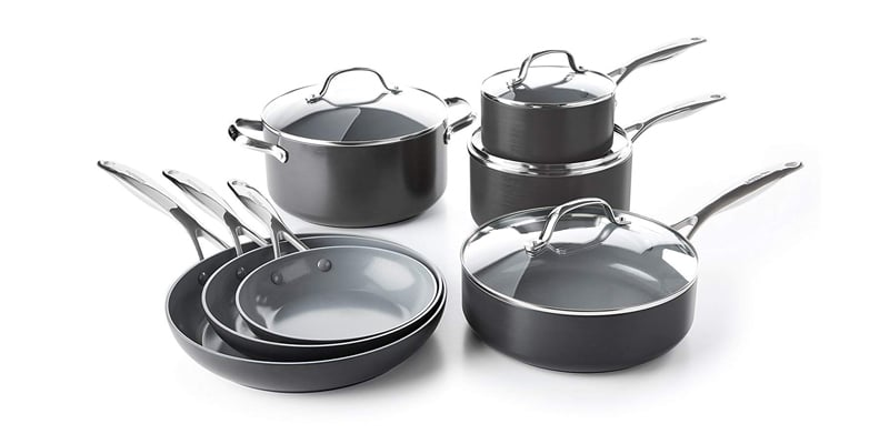 GreenPan CC000675-001 Ceramic Nonstick Cookware Set