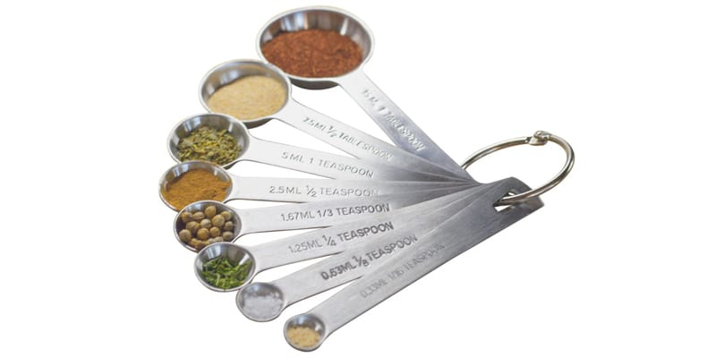 Natizo Stainless Steel Measuring Spoon