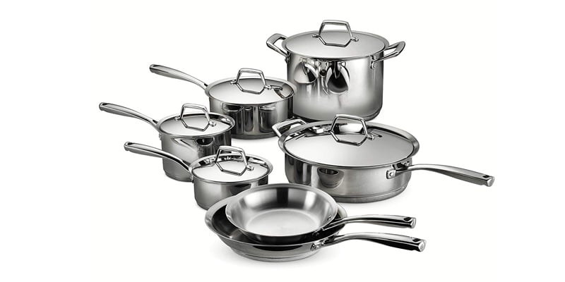 Tramontina 80101/203DS Gourmet Prima Stainless Steel Cookware Set