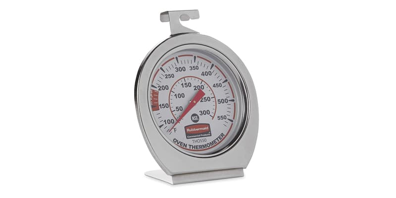 Rubbermaid Commercial Products Stainless Steel Oven Thermometer
