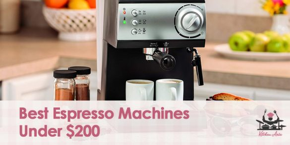 Best Espresso Machines Under 200 dollars