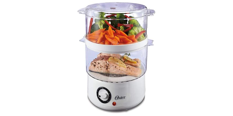 Oster Double Tiered Food Steamer 5 Quart