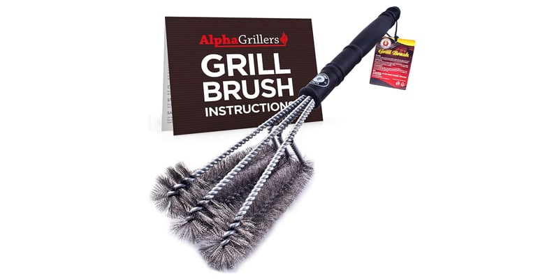 Alpha Grillers 18 inches Grill Brush
