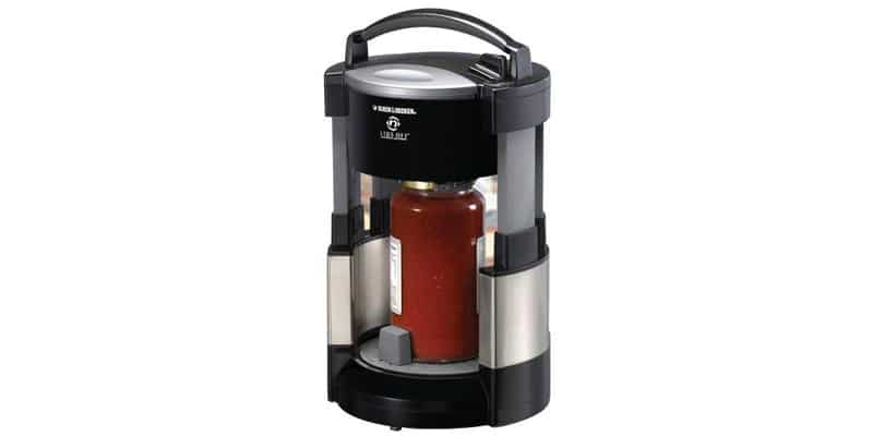 Black and Decker JW200BM Lids Off Jar Opener