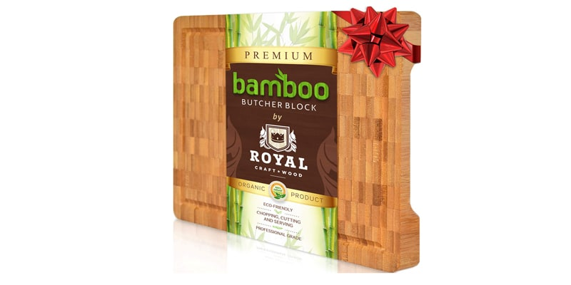 Royal Craft Wood Thick Bamboo Wood Cutting Board
