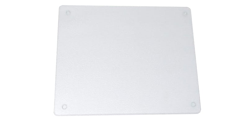 Surface Saver Vance 20 X 16 inch Clear Tempered Glass Cutting Board
