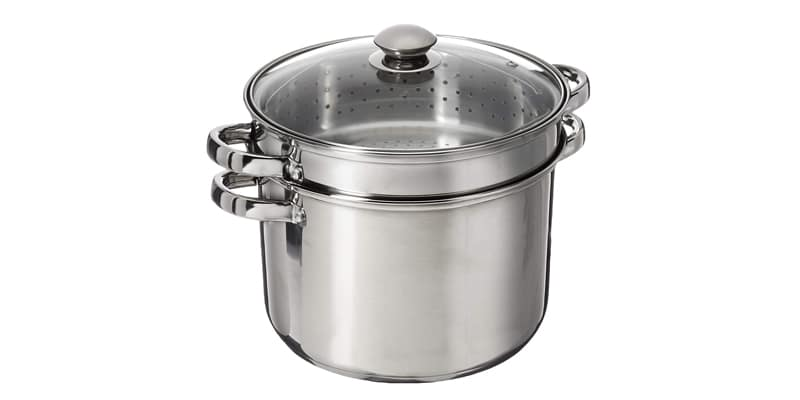 ExcelSteel 8 Quart 18/10 Stainless Steel 4 Piece Set