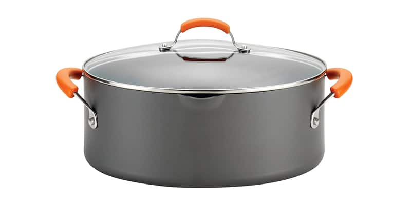 Rachael Ray Brights Hard Anodized Nonstick Pasta Pot