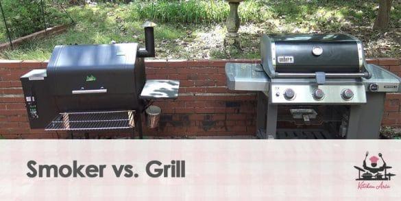 Smoker vs. Grill